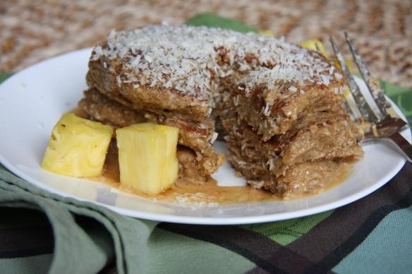 Oatmeal Protein Pancakes