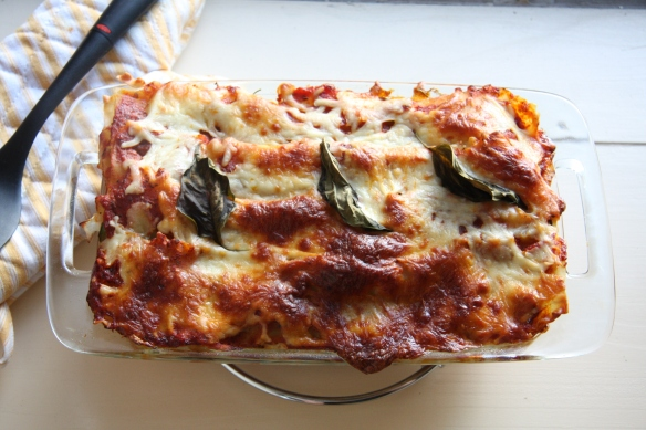 Lightened Up Summer Vegetable Lasagna I 24 Carrot Life